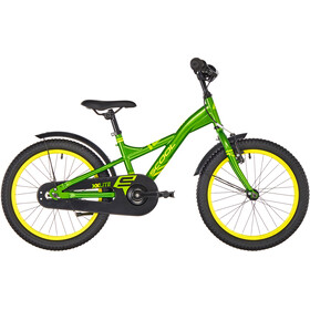 s'cool XXlite 18 steel Kinder green/yellow